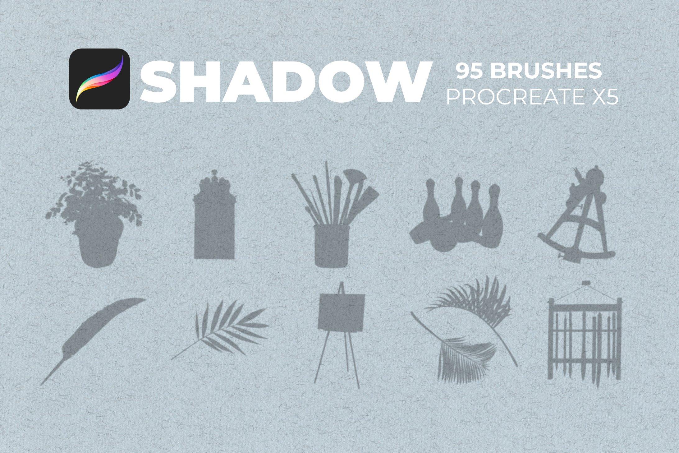 95款室内物品窗户自然阴影Precreate印章笔刷素材 95 Shadows For Precreate Brushes插图11