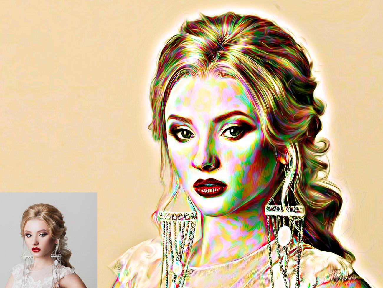 涂鸦艺术照片处理特效PS动作模板 Graffiti Art Photoshop Action插图7