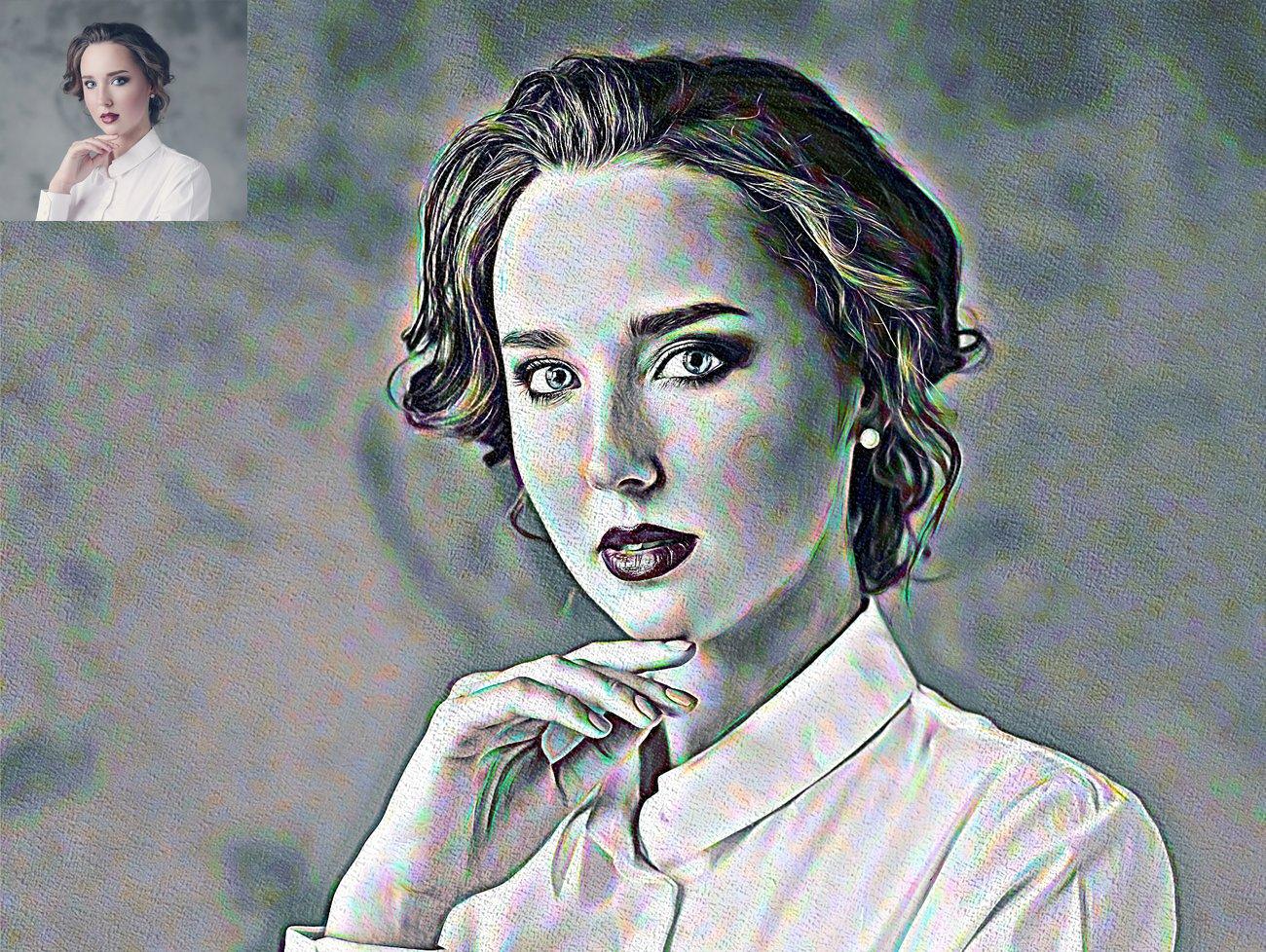 涂鸦艺术照片处理特效PS动作模板 Graffiti Art Photoshop Action插图11
