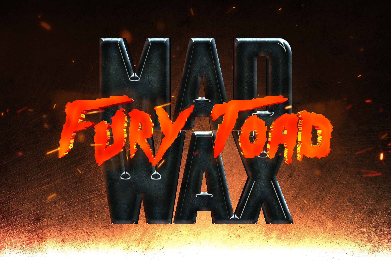 10款电影标题Logo字体设计PS样式模板素材 Movie Titles Text Effects Template Pack – Vol.2插图4