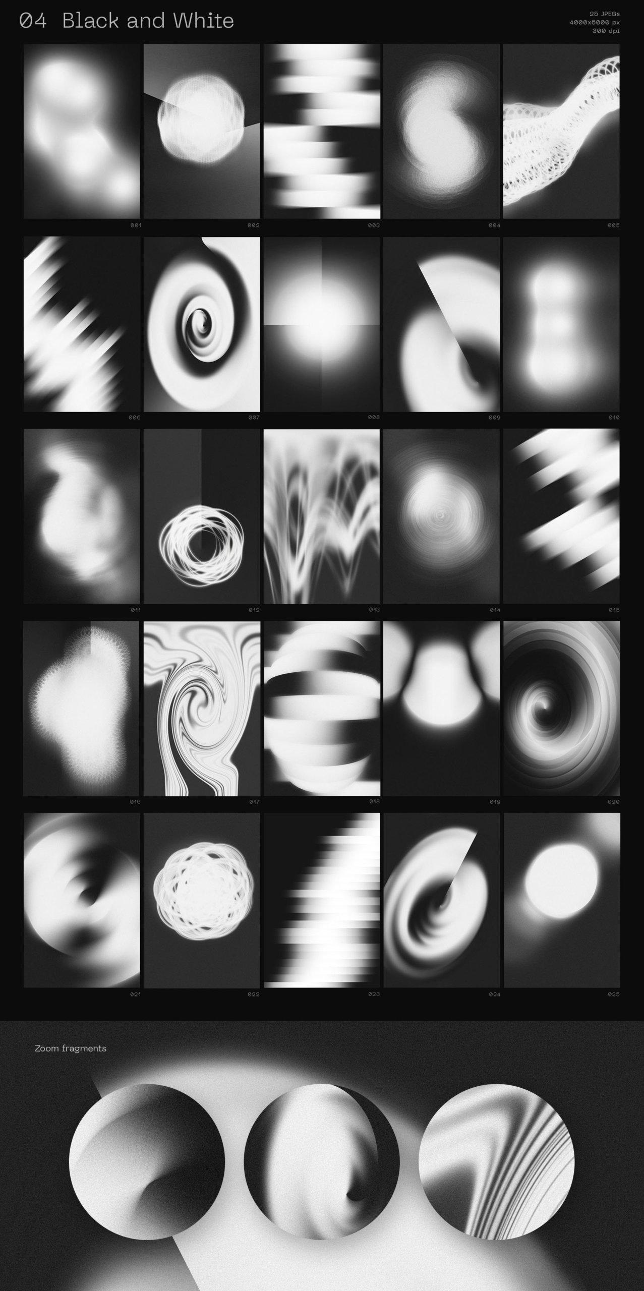 [单独购买] 潮流抽象粗糙划痕炫彩全息渐变油漆纹理背景图片矢量图案设计素材套装 Inartflow – Grafica Shapes Textures插图6