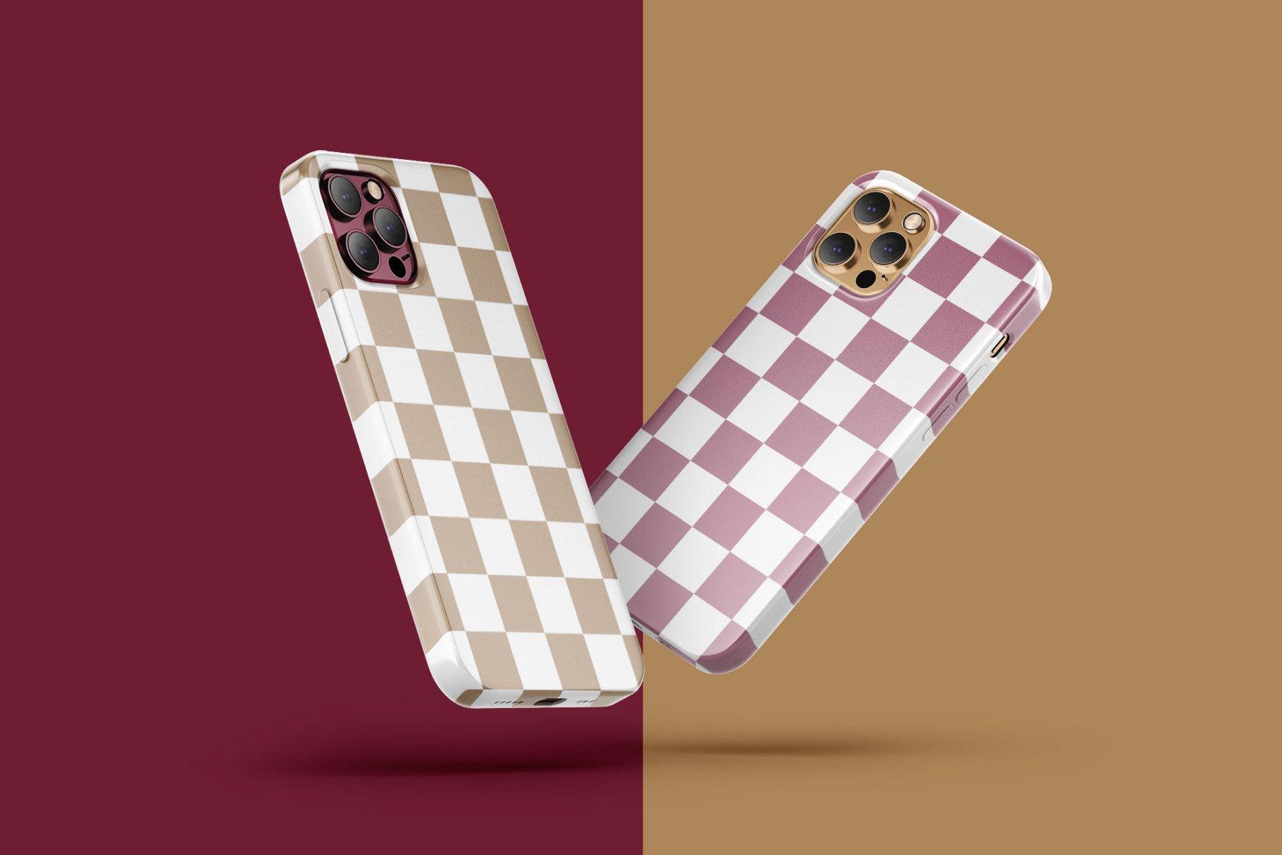 14款iPhone 12 Pro手机壳外观设计展示样机合集 iPhone 12 Pro Case Mockup Set插图2