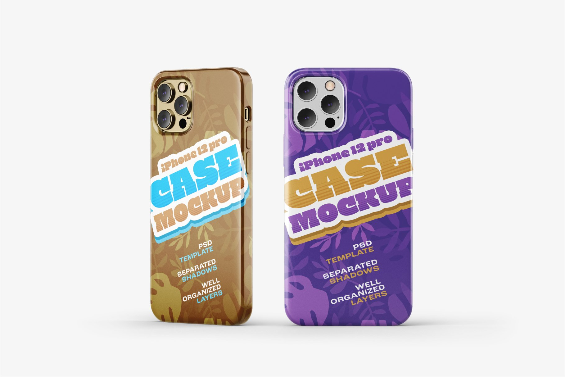 14款iPhone 12 Pro手机壳外观设计展示样机合集 iPhone 12 Pro Case Mockup Set插图9