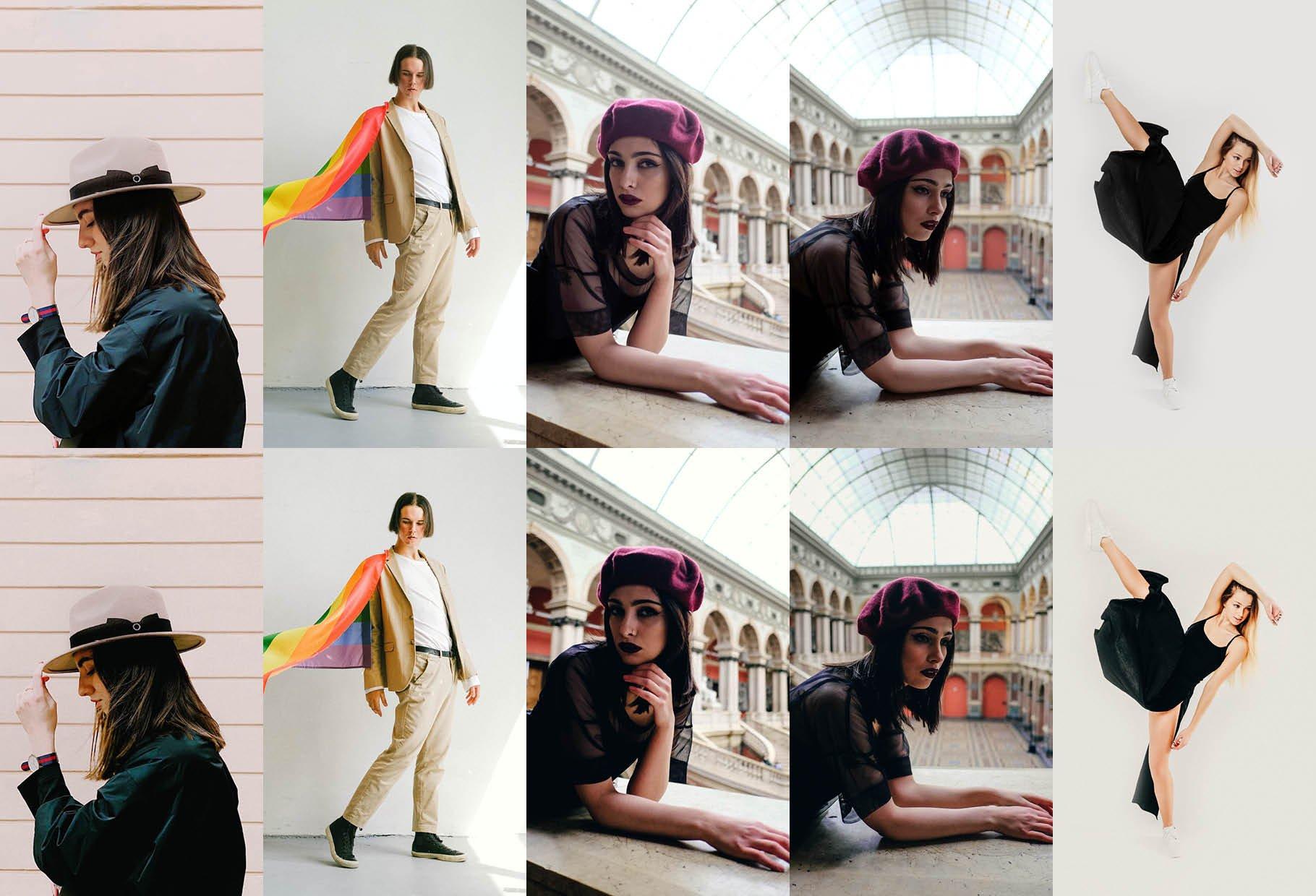 10个艺术摄影照片调色滤镜LR预设模板 10 Artistic Lightroom Presets插图6