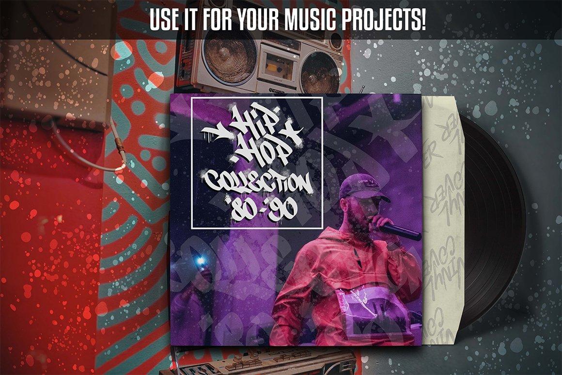 [单独购买] 潮流街头嘻哈涂鸦喷涂效果PS笔刷设计素材套件 Ultimate Photoshop Graffiti Kit插图13