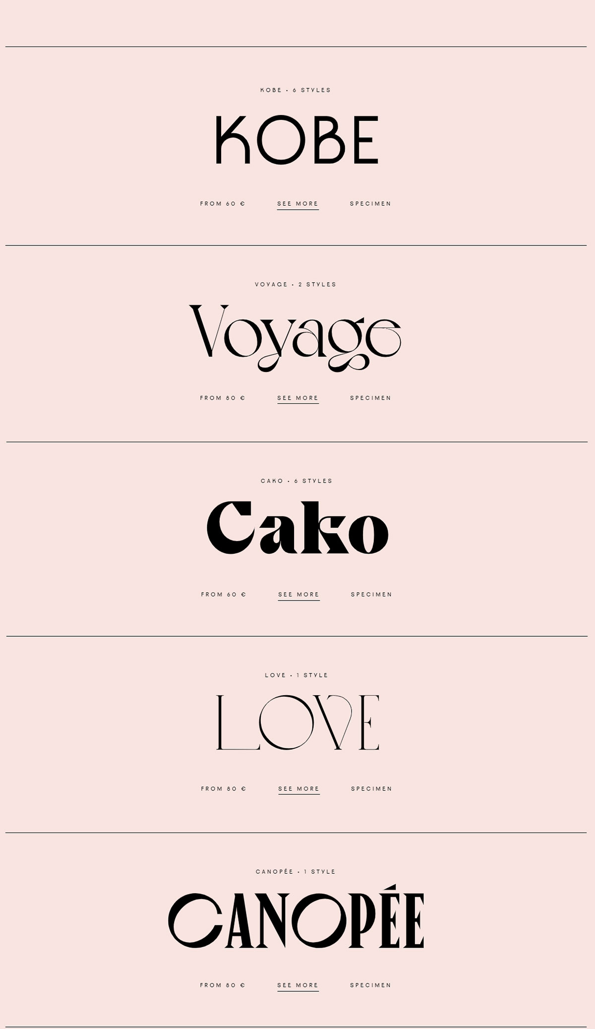 [单独购买] 10套潮流逆反差酸性杂志标题Logo设计VJ Type家族英文字体合集 VJ Type – Typeface Font Collection插图1
