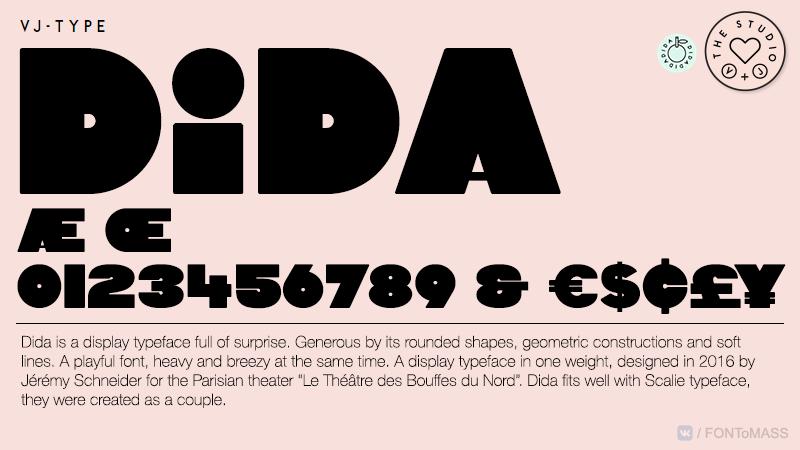 [单独购买] 10套潮流逆反差酸性杂志标题Logo设计VJ Type家族英文字体合集 VJ Type – Typeface Font Collection插图6