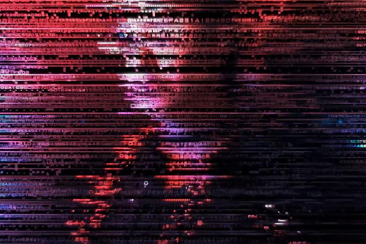 科幻未来派黑客代码故障视频转场AE视频模板素材 Digital Transitions and Short Intro插图