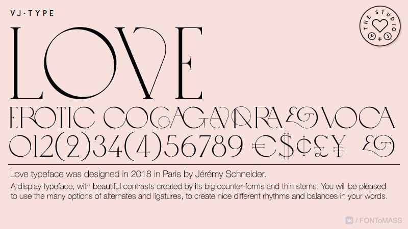 [单独购买] 10套潮流逆反差酸性杂志标题Logo设计VJ Type家族英文字体合集 VJ Type – Typeface Font Collection插图8