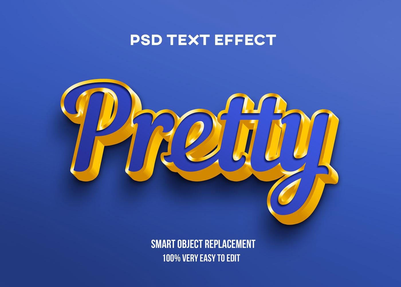 [单独购买] 80款炫彩3D立体海报标题Logo特效字体设计PS样机素材 30 Text Effect Bundle插图