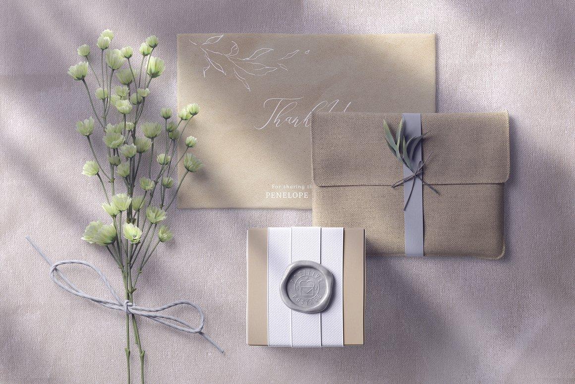 [单独购买] 17款超大婚礼品牌设计场景展示样机创建者模板PS素材包 Wedding Mockup Scene Creator插图3