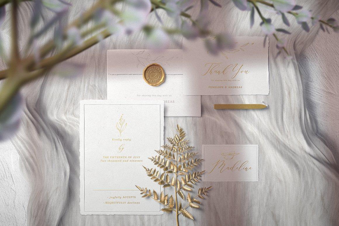 [单独购买] 17款超大婚礼品牌设计场景展示样机创建者模板PS素材包 Wedding Mockup Scene Creator插图6