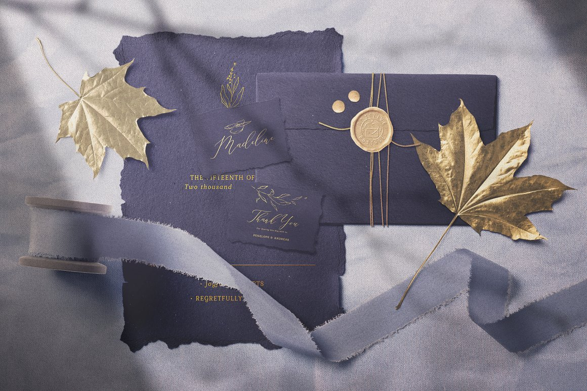 [单独购买] 17款超大婚礼品牌设计场景展示样机创建者模板PS素材包 Wedding Mockup Scene Creator插图9