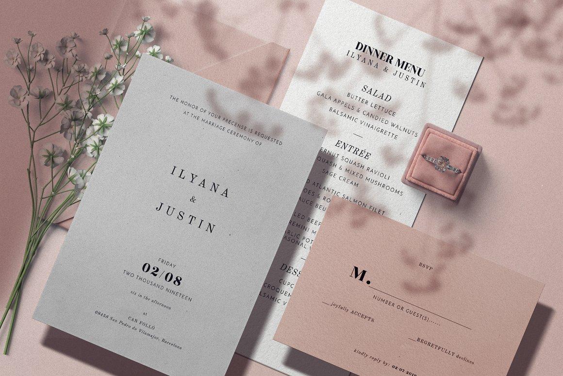 [单独购买] 17款超大婚礼品牌设计场景展示样机创建者模板PS素材包 Wedding Mockup Scene Creator插图10