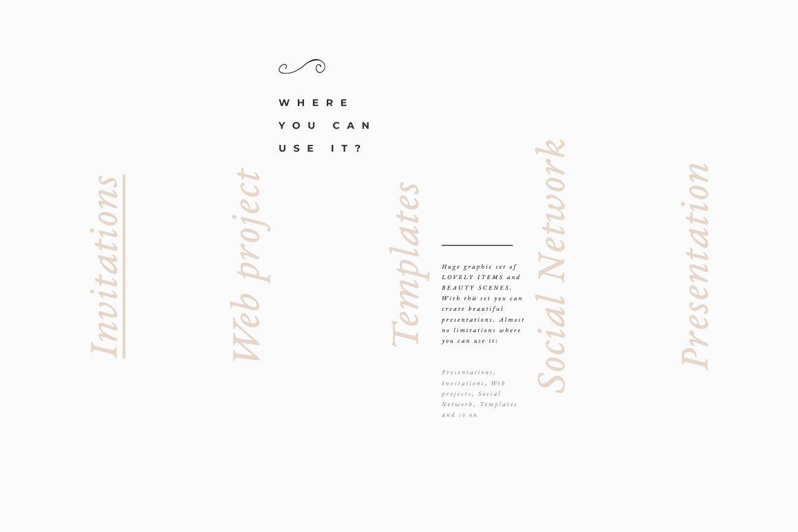 [单独购买] 17款超大婚礼品牌设计场景展示样机创建者模板PS素材包 Wedding Mockup Scene Creator插图11