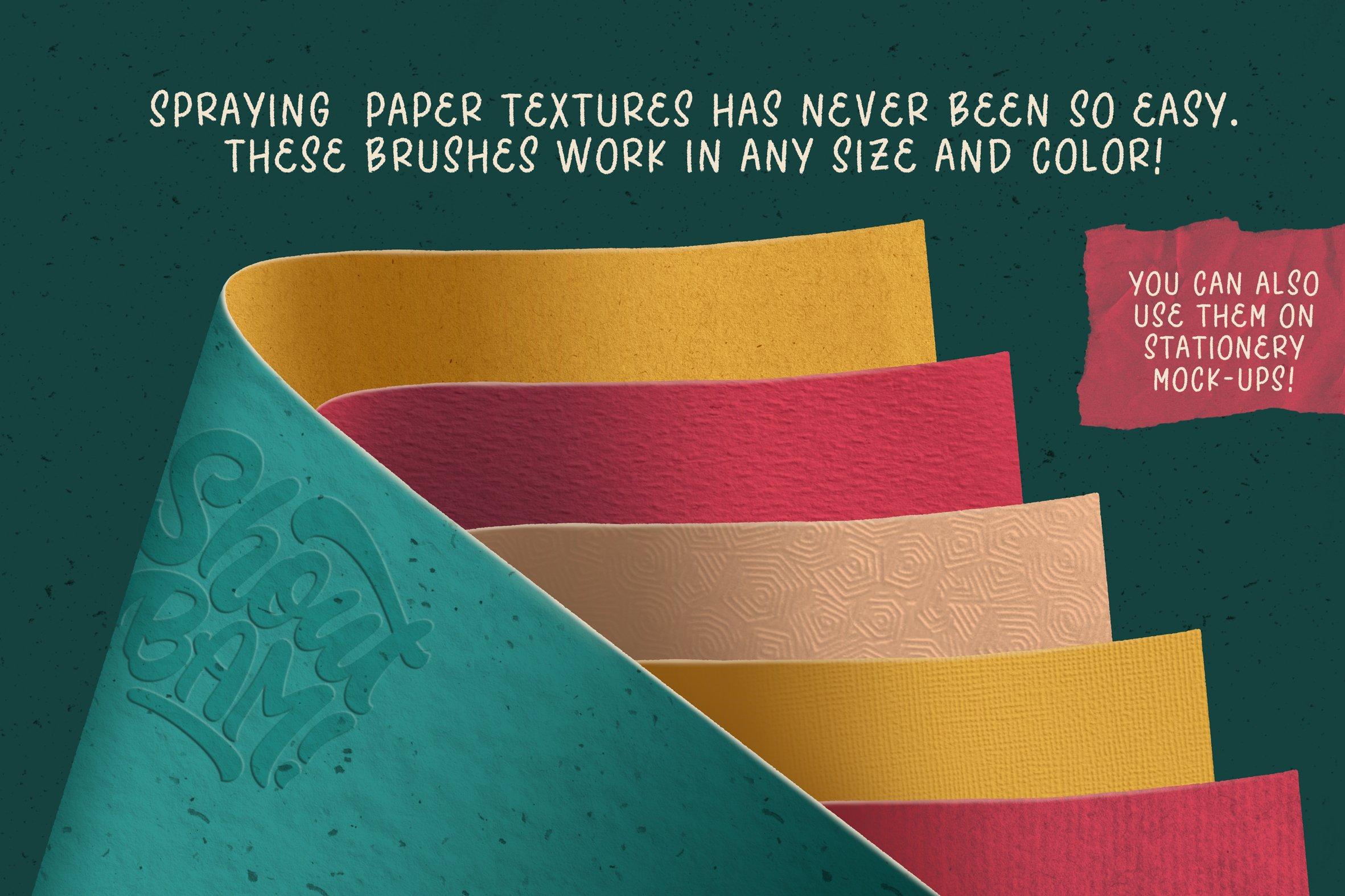 复古做旧颗粒撕纸纸张纹理iPad Procreate笔刷素材套装 The Ultimate Procreate Background Set插图10
