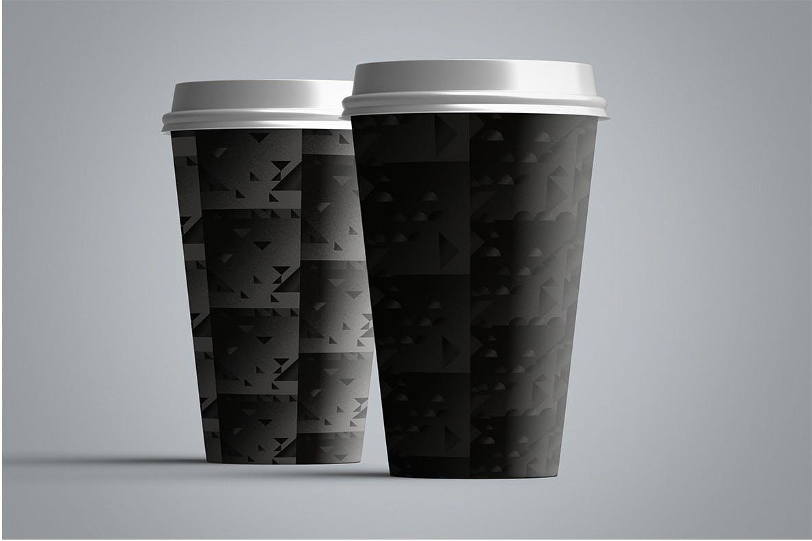 现代暗黑噪点颗粒渐变几何图形无缝隙背景图设计素材 Cubic Dark Patterns插图9