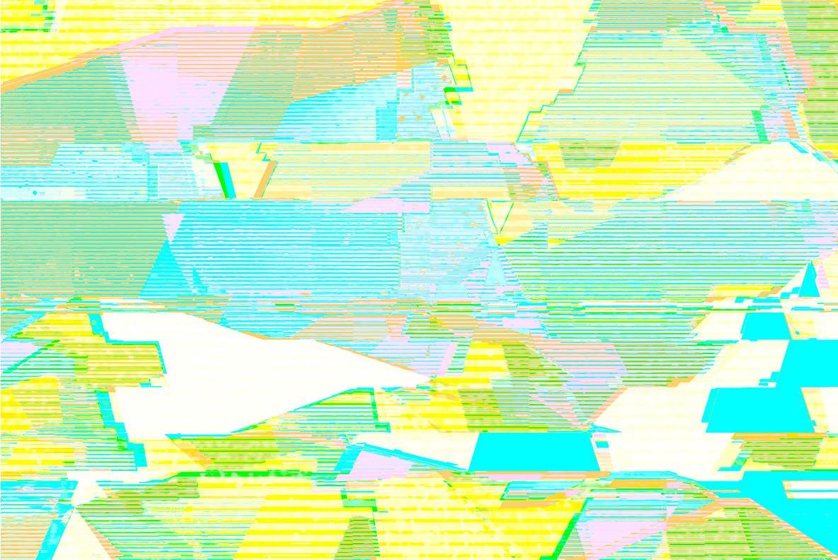 15款抽象故障失真纹理海报设计背景图片素材 Pastel Noise插图9