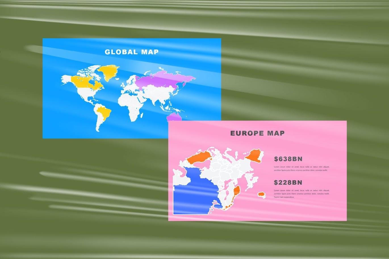 时尚炫彩品牌策划提案简报作品集设计PPT+Keynote模板 Millenia – Fashion PowerPoint Template插图3