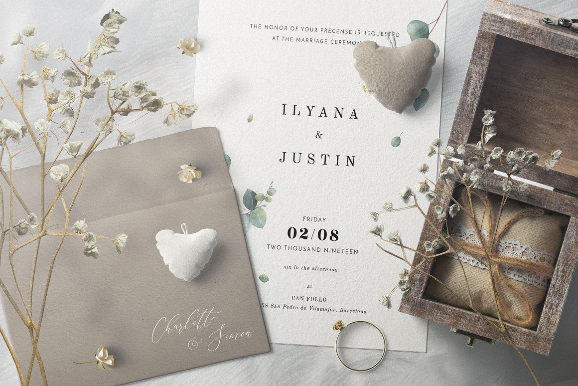 [单独购买] 17款超大婚礼品牌设计场景展示样机创建者模板PS素材包 Wedding Mockup Scene Creator插图13