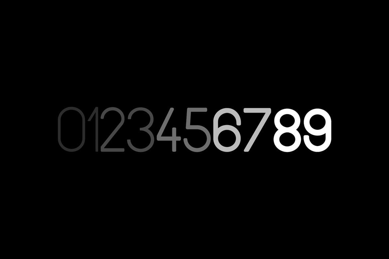 现代时尚杂志海报标题徽标Logo设计无衬线英文字体素材 SPACIA – Unique & Modern Display Typeface插图9