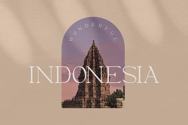 优雅轻奢现代时尚Logo杂志海报标题衬线英文字体素材 Moeda – Luxury Serif Font插图11