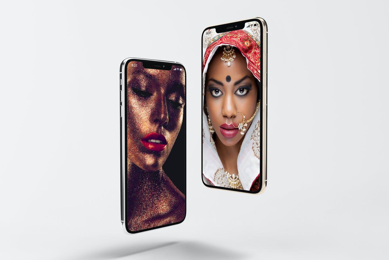 8款逼真APP界面设计iPhone 11 Pro屏幕演示样机模板 iPhone 11pro Mock-up插图12