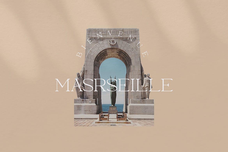 优雅轻奢现代时尚Logo杂志海报标题衬线英文字体素材 Moeda – Luxury Serif Font插图12