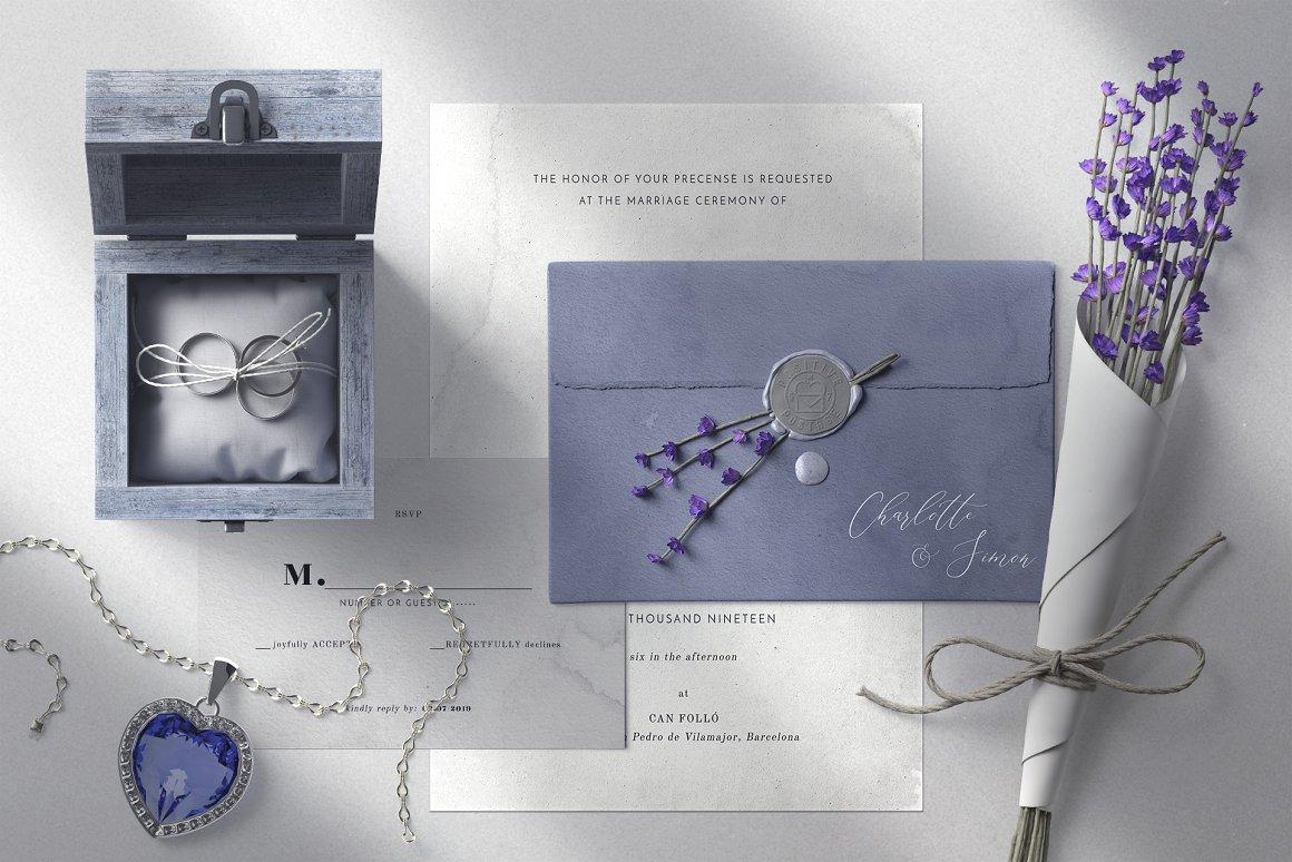 [单独购买] 17款超大婚礼品牌设计场景展示样机创建者模板PS素材包 Wedding Mockup Scene Creator插图15
