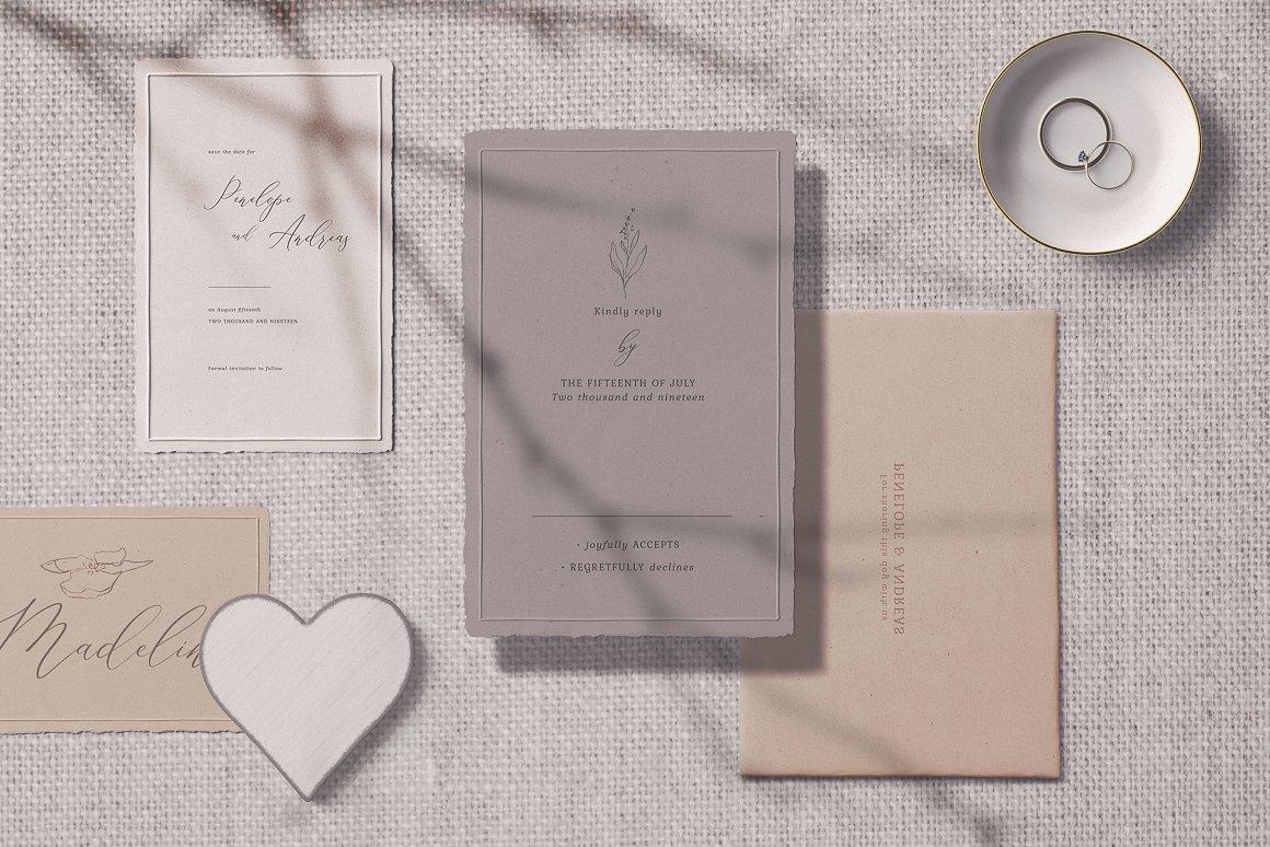[单独购买] 17款超大婚礼品牌设计场景展示样机创建者模板PS素材包 Wedding Mockup Scene Creator插图17
