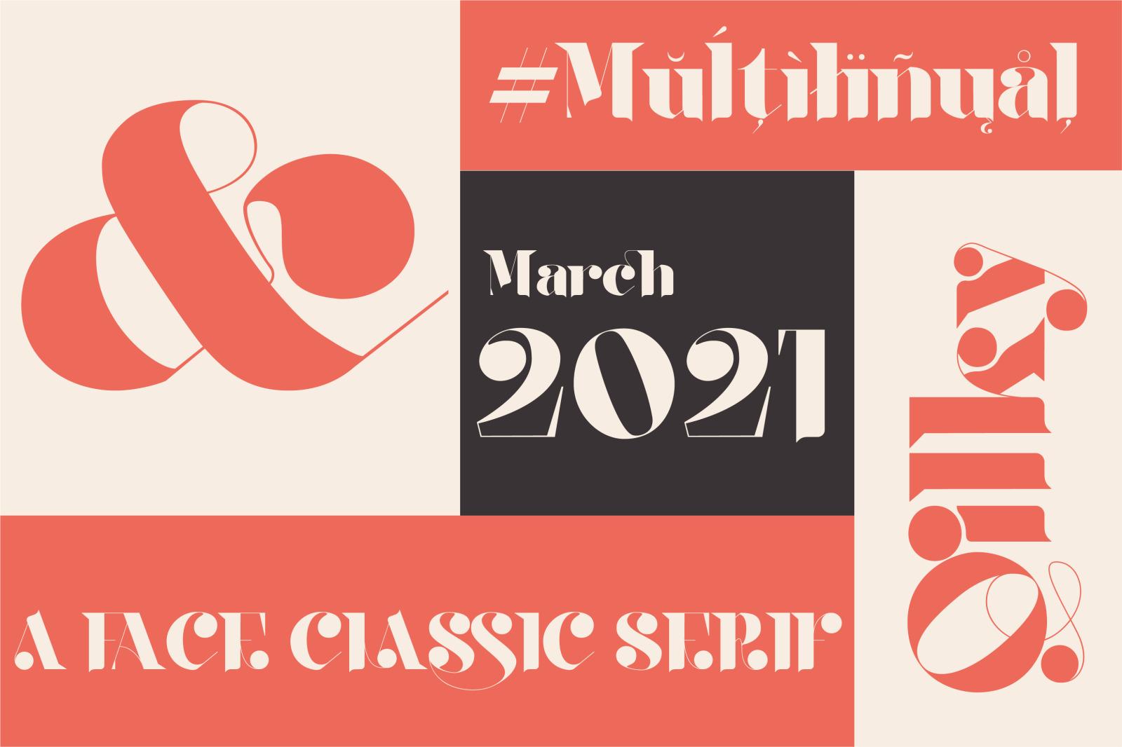 时尚复古品牌徽标Logo海报标题设计衬线英文字体素材 Qilky Font插图7
