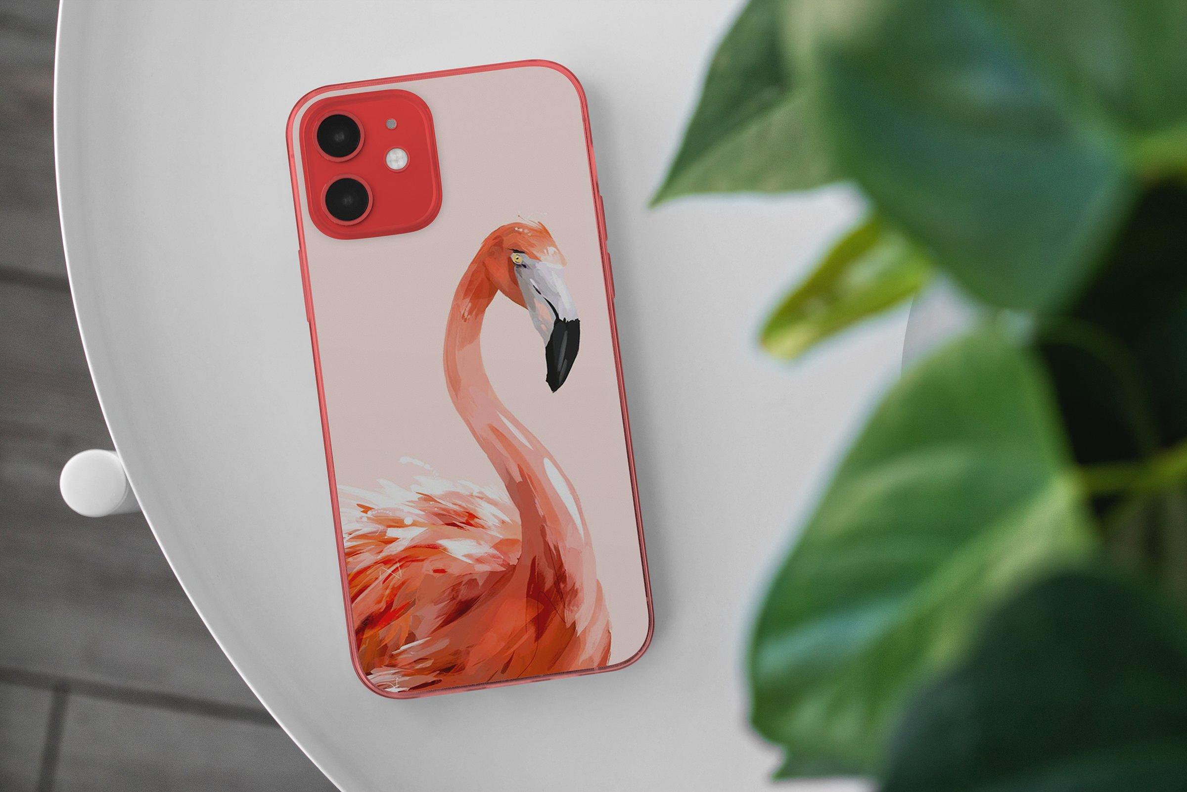 15款时尚苹果iPhone 12手机保护壳设计PS智能贴图样机模板 iPhone 12 Clear Case MockUp Vol.2插图1