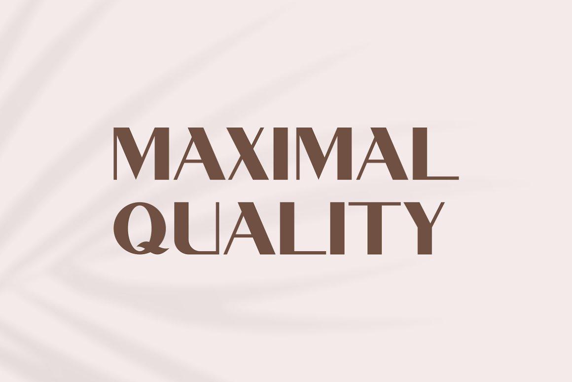 现代极简优雅品牌徽标Logo海报标题设计无衬线英文字体素材 Begajulan Font插图1