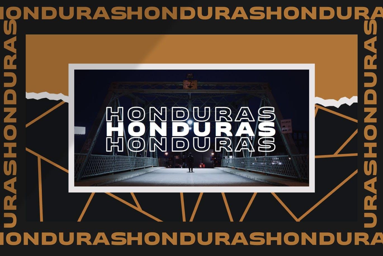 潮流撕纸效果品牌营销设计提案简报演示文稿模板素材 HONDURAS Bundle Presentation Template插图1