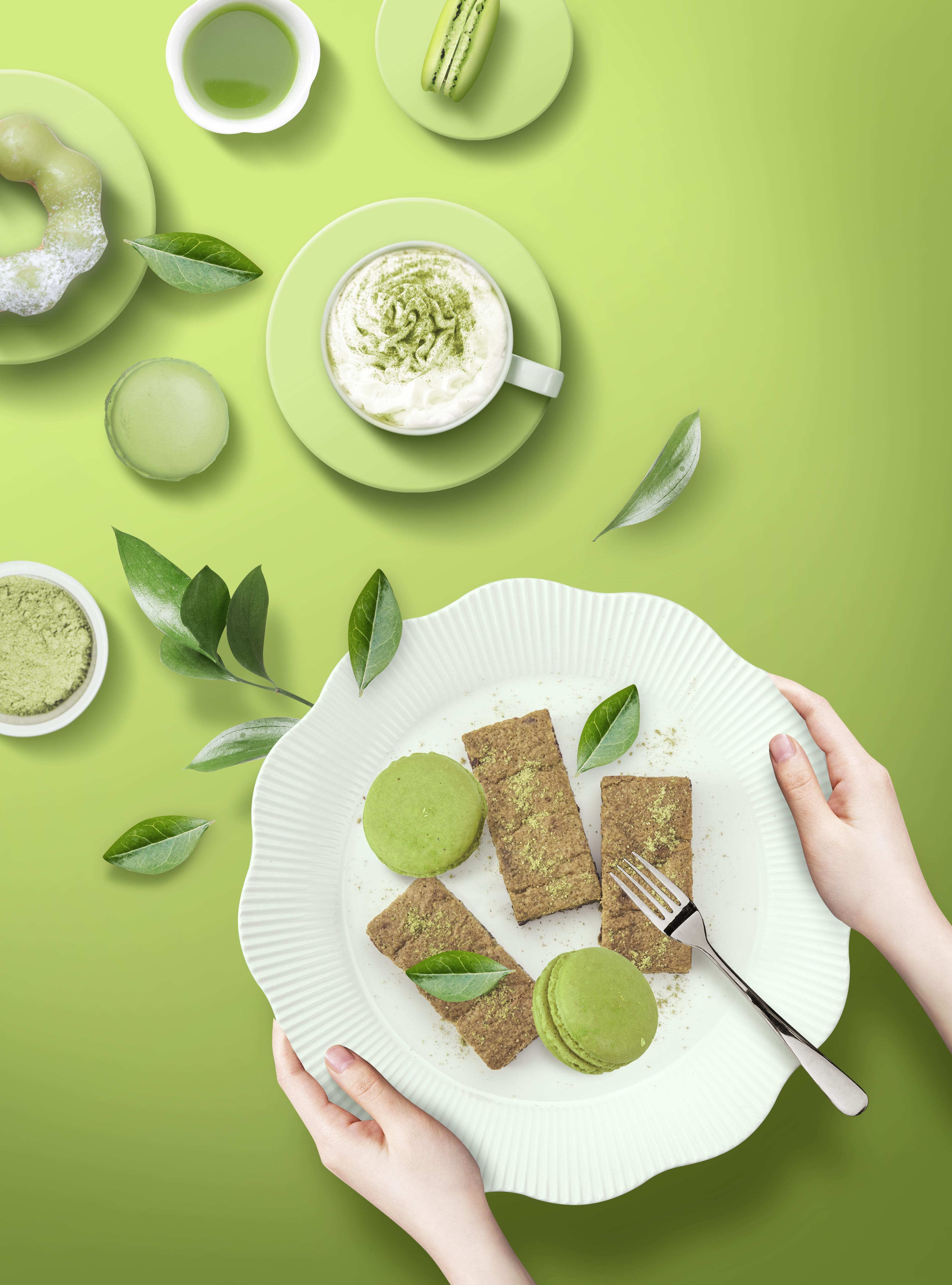 10款奶茶甜品美食蛋糕下午茶传单海报设计PSD素材 Food Poster PSD Template插图7