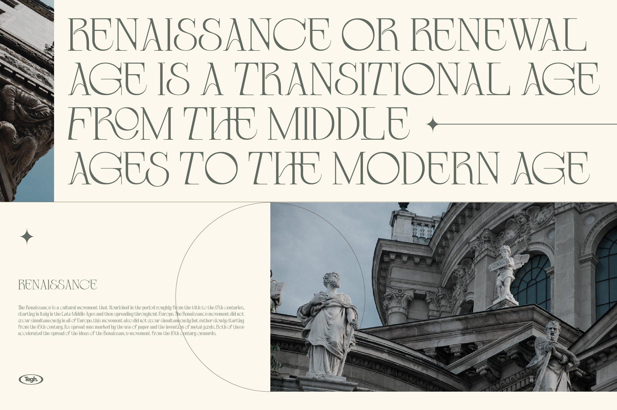 优雅复古杂志海报标题徽标Logo设计衬线英文字体素材 Coolumbus Modern Serif Font插图2