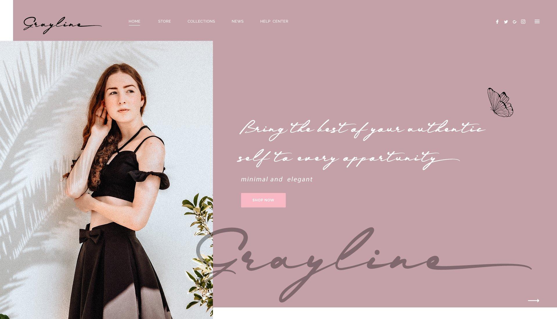 现代时尚品牌Logo标题设计手写英文字体素材 Grayphene Font插图2