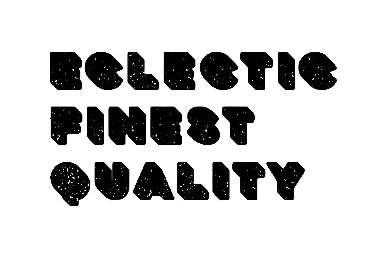 粗壮标题Logo设计无衬线英文字体下载 Deep Block – Distressed Display Font插图2