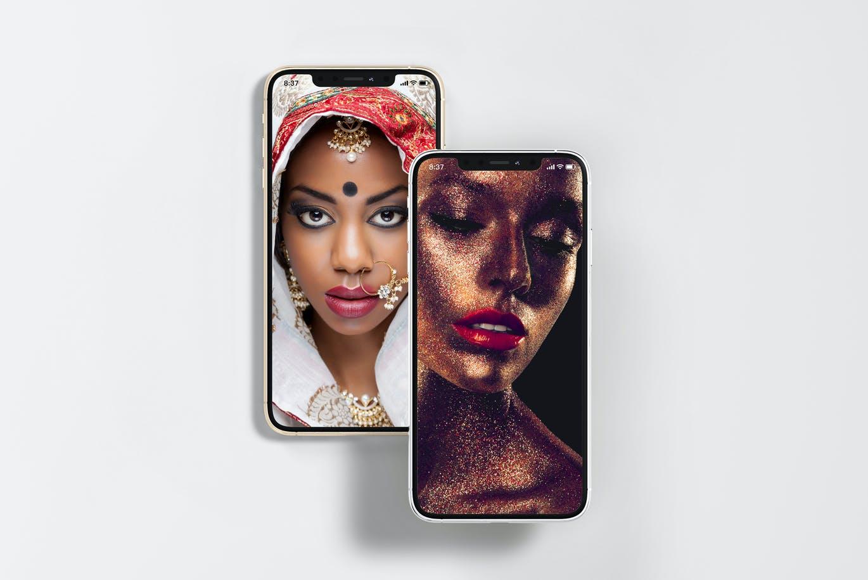 8款逼真APP界面设计iPhone 11 Pro屏幕演示样机模板 iPhone 11pro Mock-up插图3