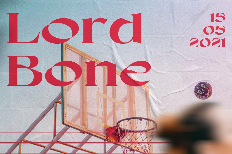 5款时尚潮流褶皱墙贴胶粘海报传单设计展示样机模板 Wall Poster Mockup插图2