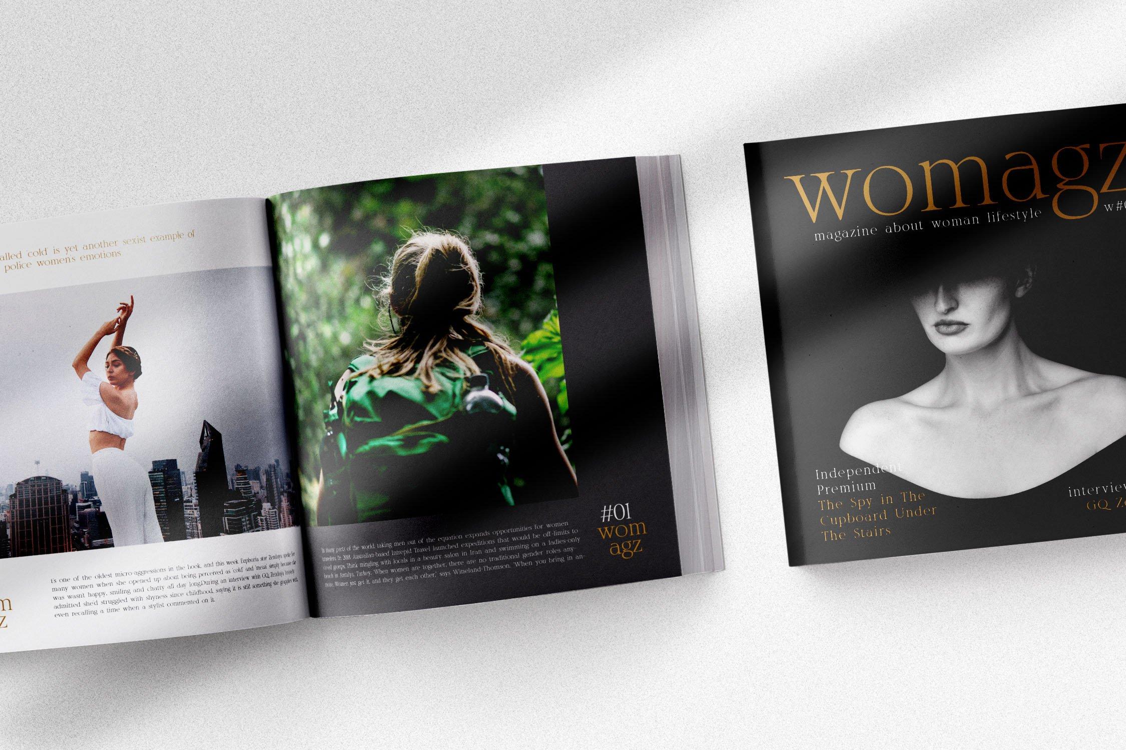 优雅经典杂志海报标题Logo设计衬线英文字体素材 Rosemode Font插图4
