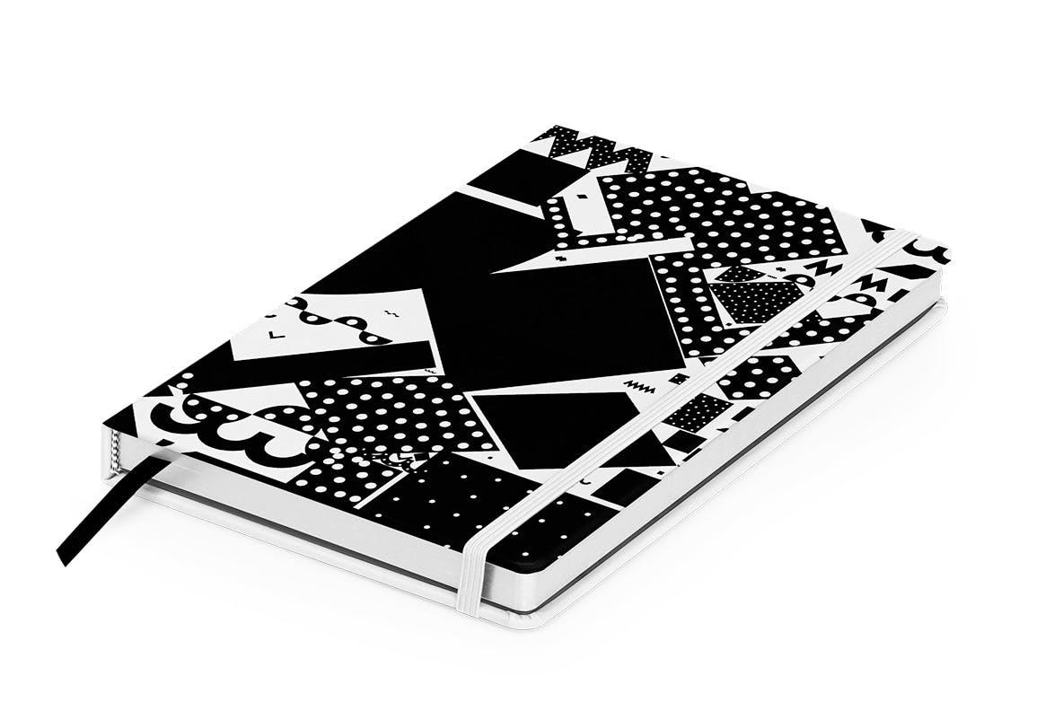 20个抽象几何拼贴矢量背景图片设计素材 Mono Contain – Background Patterns插图4