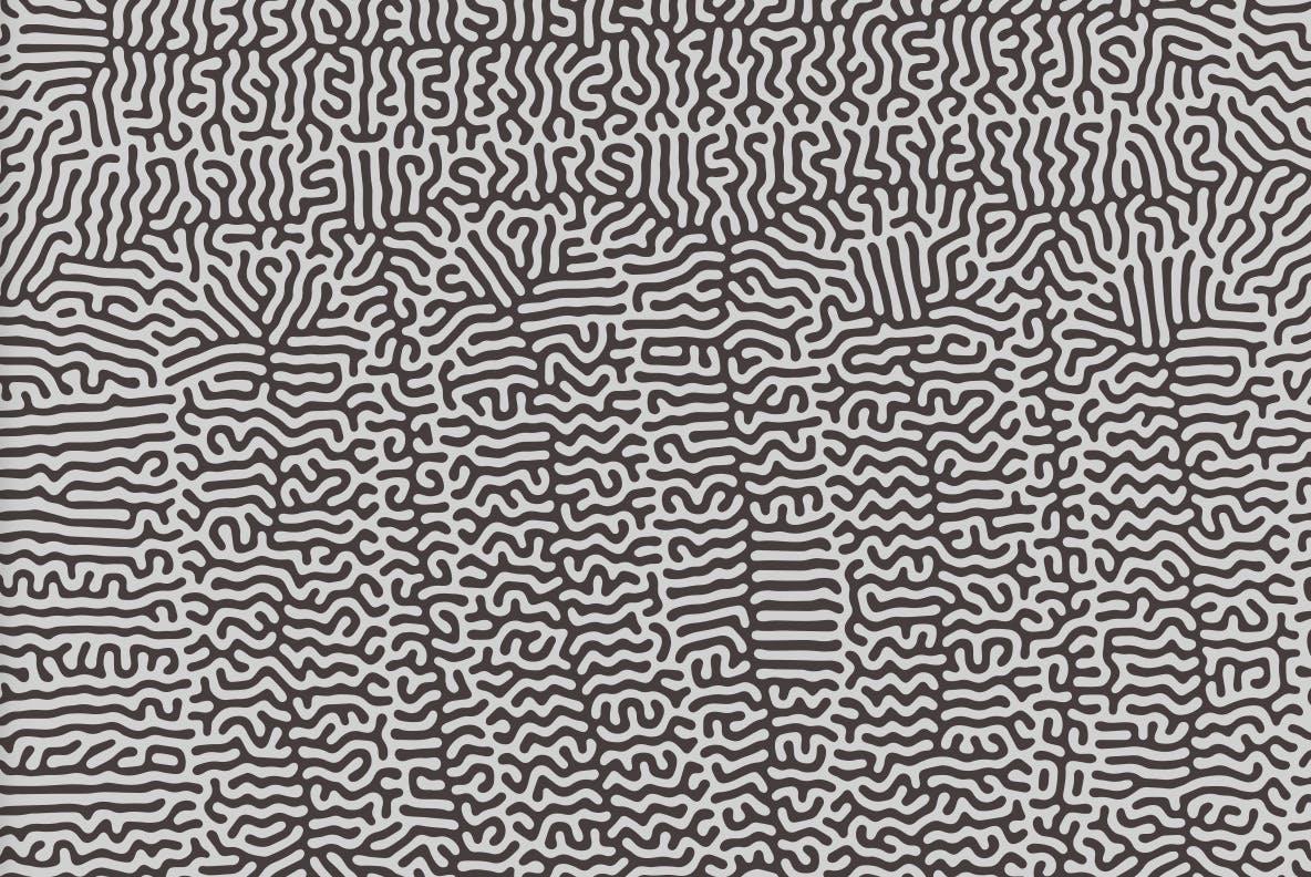 15个高品质有机微生物纹理无缝隙图案矢量设计素材 Microbe Organism – Abstract Backgrounds插图4