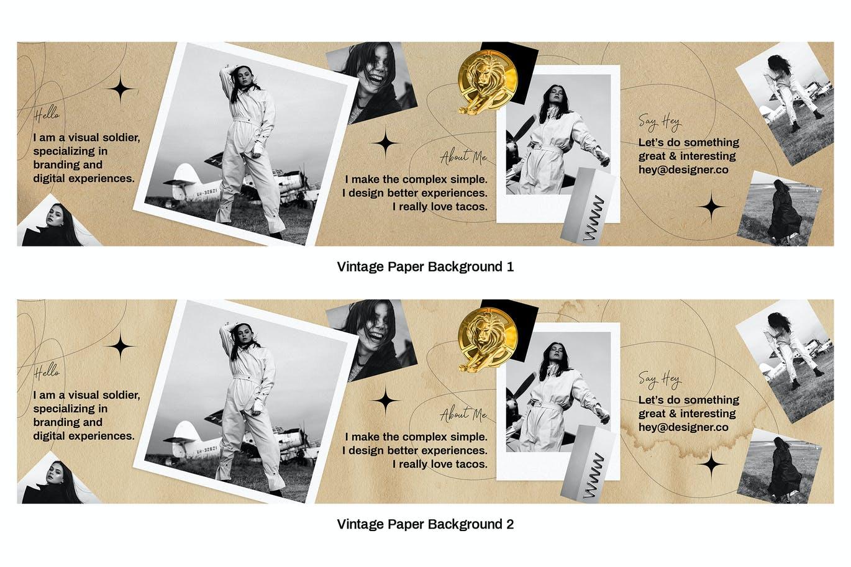 潮流复古INS风新媒体推广电商海报设计模板 Seamless Instagram Carousel插图4