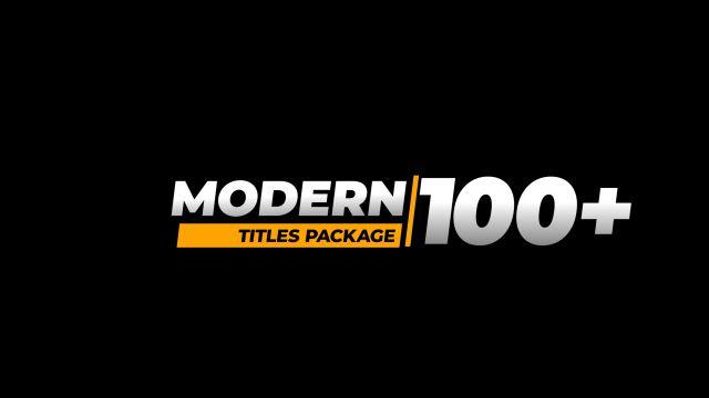 100个现代标题徽标Logo文本动画演示MP4视频模板素材 BusyBoxx – V05 Modern Titles插图45