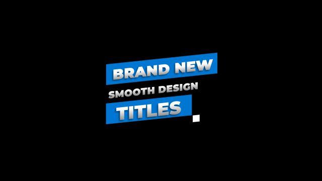 100个现代标题徽标Logo文本动画演示MP4视频模板素材 BusyBoxx – V05 Modern Titles插图50
