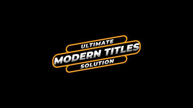 100个现代标题徽标Logo文本动画演示MP4视频模板素材 BusyBoxx – V05 Modern Titles插图54