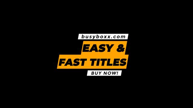 100个现代标题徽标Logo文本动画演示MP4视频模板素材 BusyBoxx – V05 Modern Titles插图62