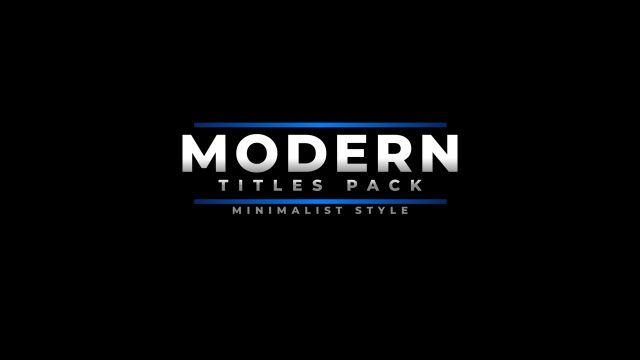 100个现代标题徽标Logo文本动画演示MP4视频模板素材 BusyBoxx – V05 Modern Titles插图63