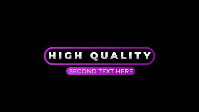 100个现代标题徽标Logo文本动画演示MP4视频模板素材 BusyBoxx – V05 Modern Titles插图64